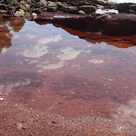 Pool in red sands bay