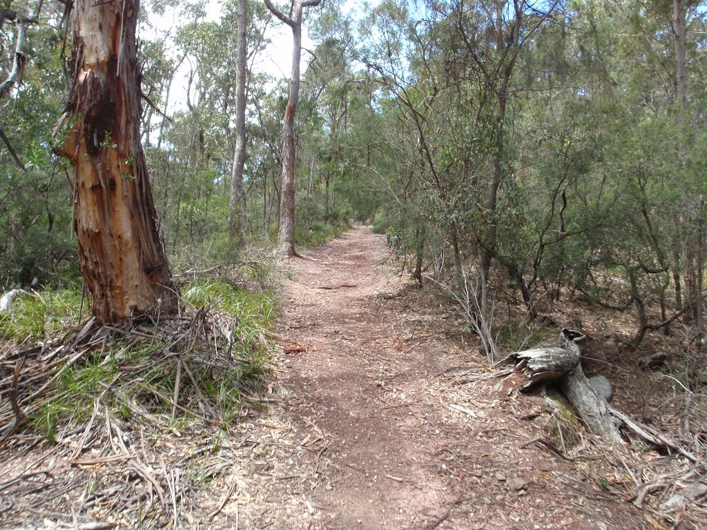 Service trail to Mowarry Point