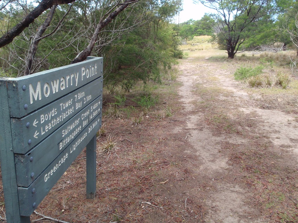 Mowarry Point signpost