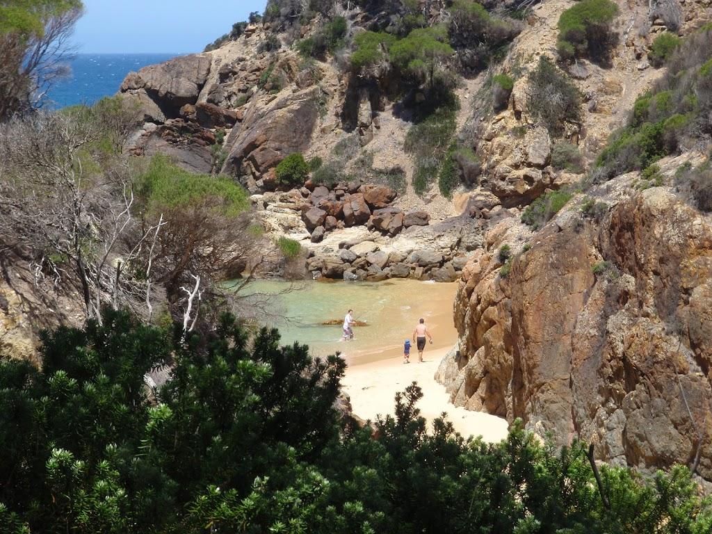 People enjoying Wallagoot Gap
