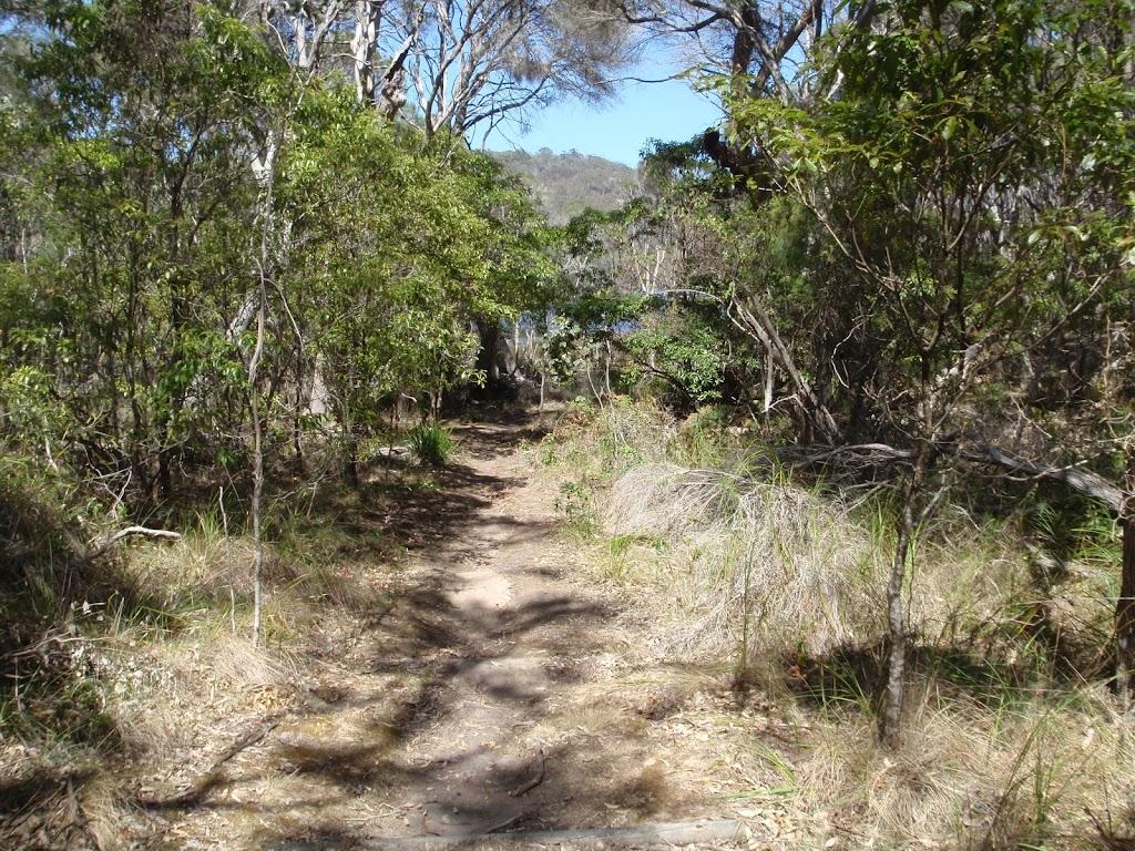Track down to Bournda Lagoon