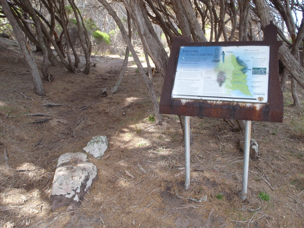 Information sign on track north of Saltwater Creek (105826)