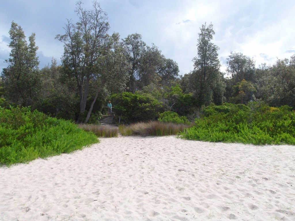 Back of Saltwater Creek Beach