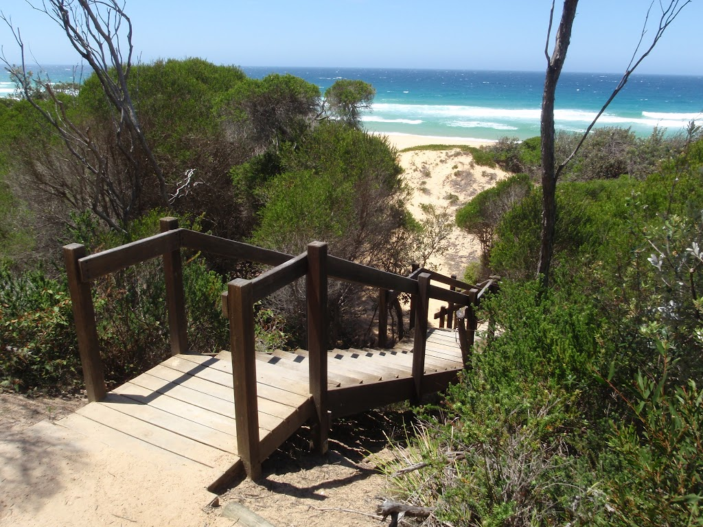 Stairs onto North Tura Beach