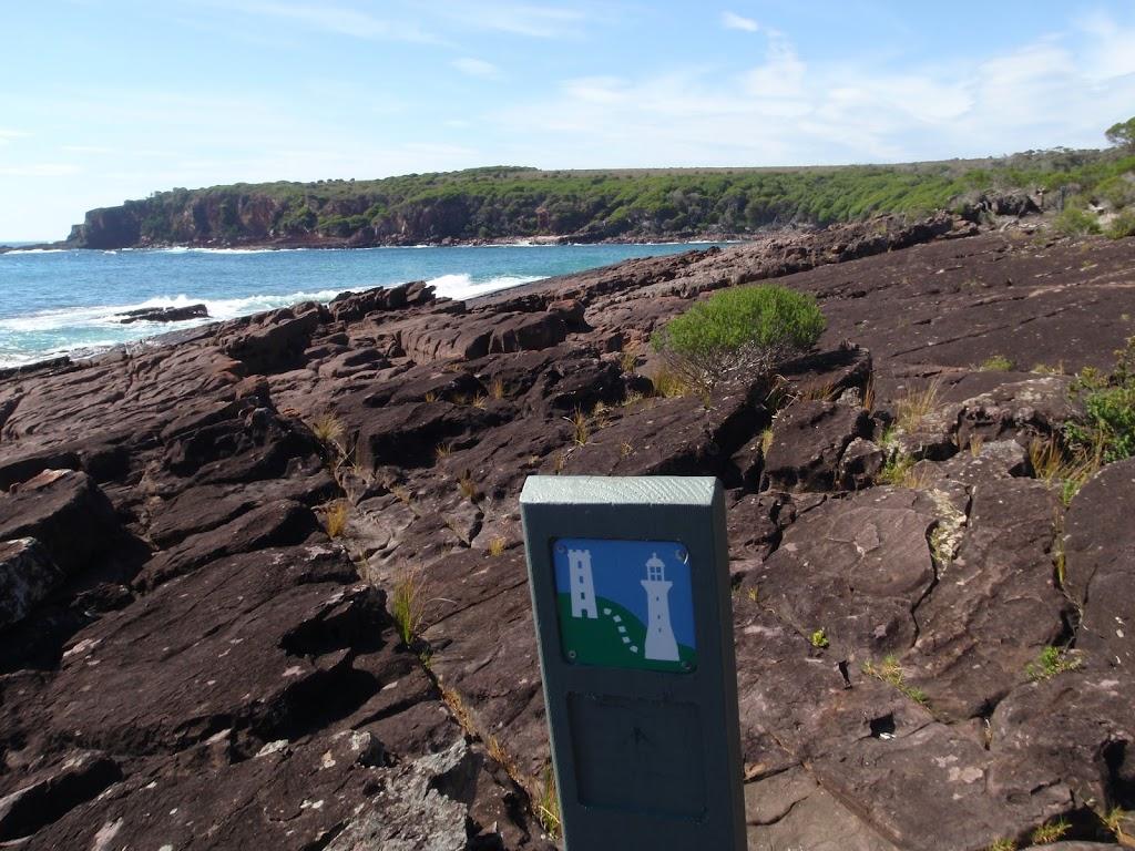Arrow marker north of Hegarty Bay