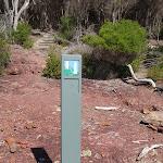Light to Light track marker in Hegartys Bay