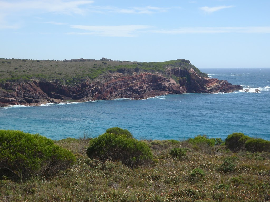 Looking across Hegartys Bay from the south