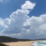 Clouds build above Bournda Beach (106601)