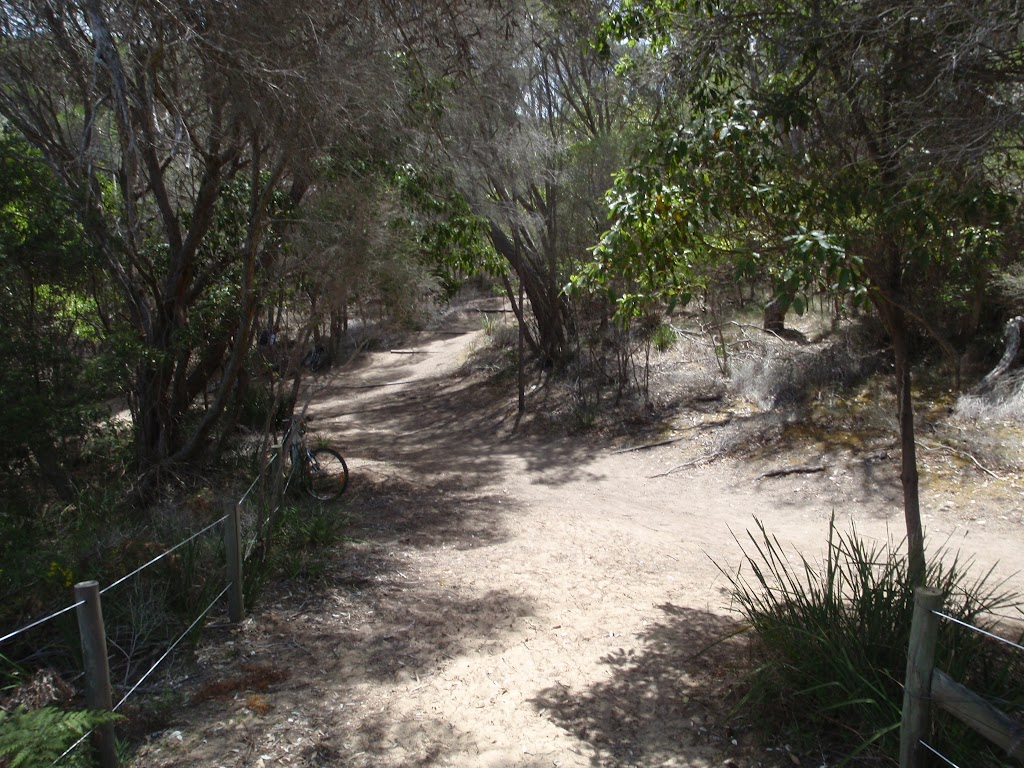 Track down to Bournda Lagoon