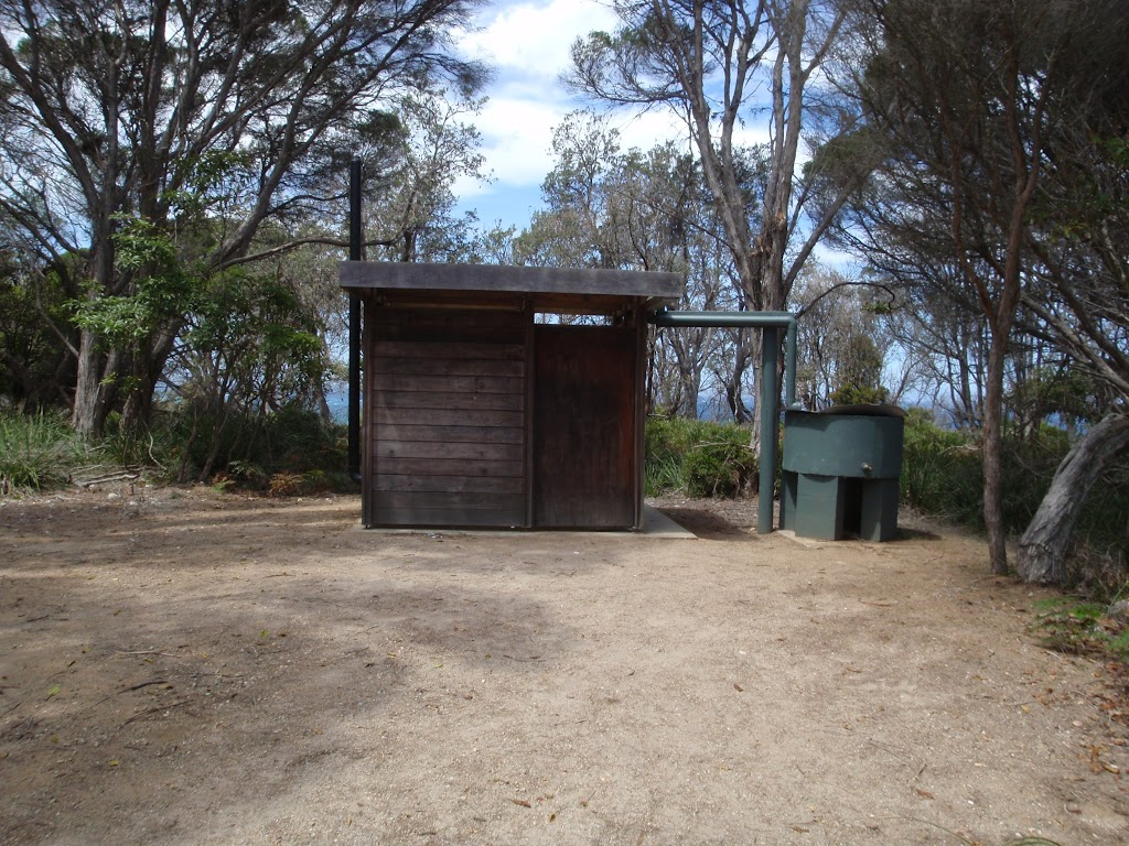 Bournda Lagoon car park toilet
