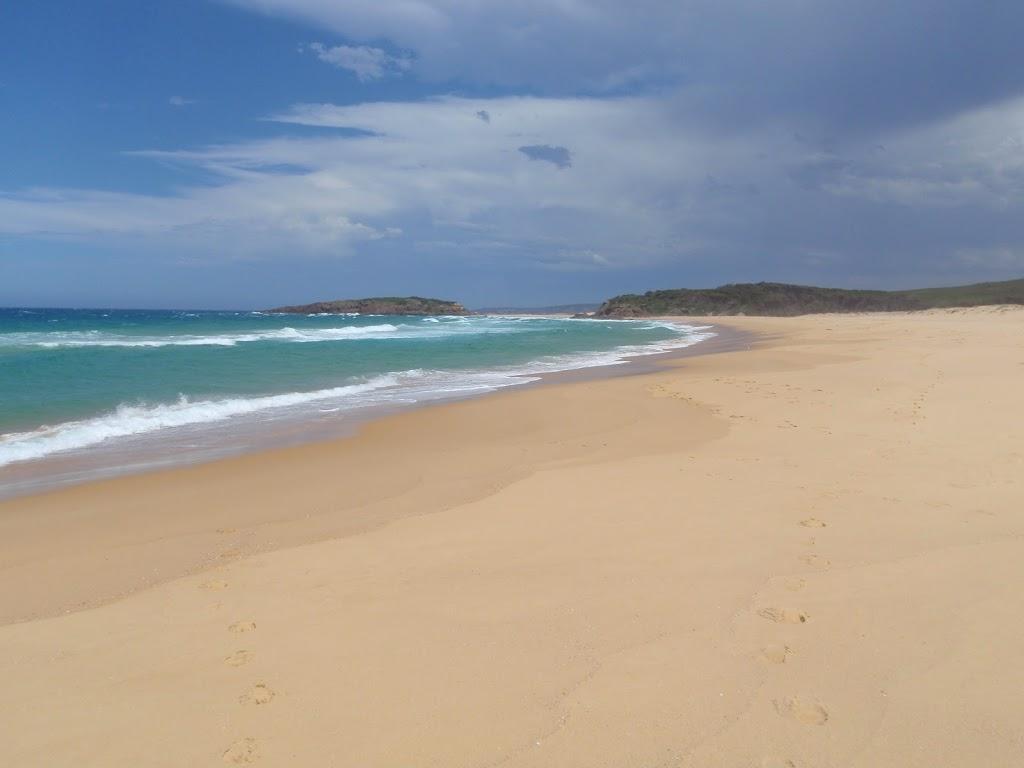 Bournda Beach and Bournda Island