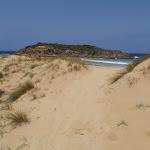 Track through dunes on North Tura (107044)