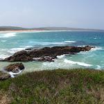 View of Bournda Beach from Bournda Island (107104)
