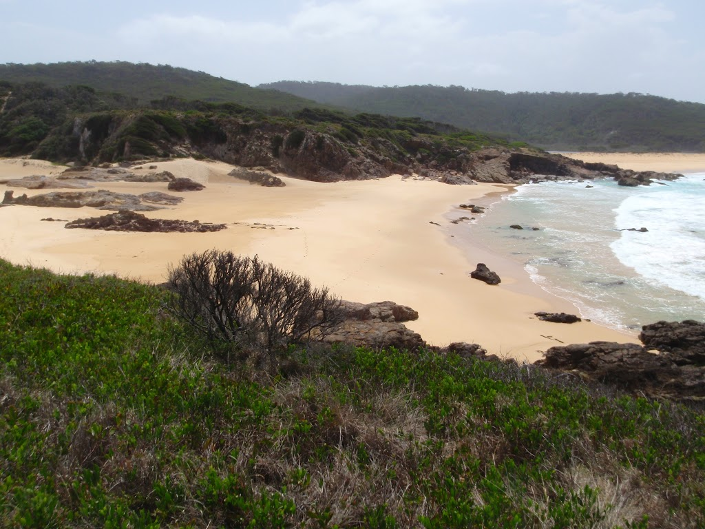 Bournda Beach from Bournda Island