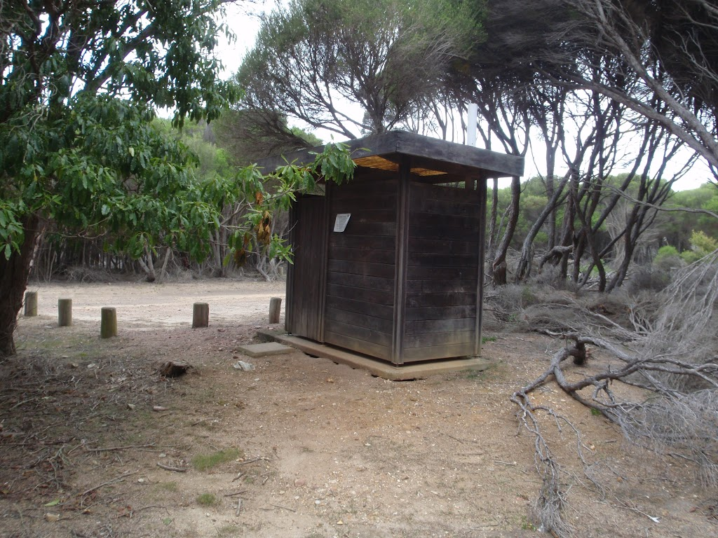 Toilet in Pulpit Rock car park