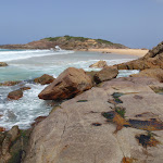 Bournda Island from rocks (107152)
