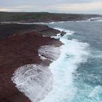 Ocean slamming rocks north of Pulpit Rock (107215)