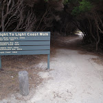Green Cape car park sign (107530)