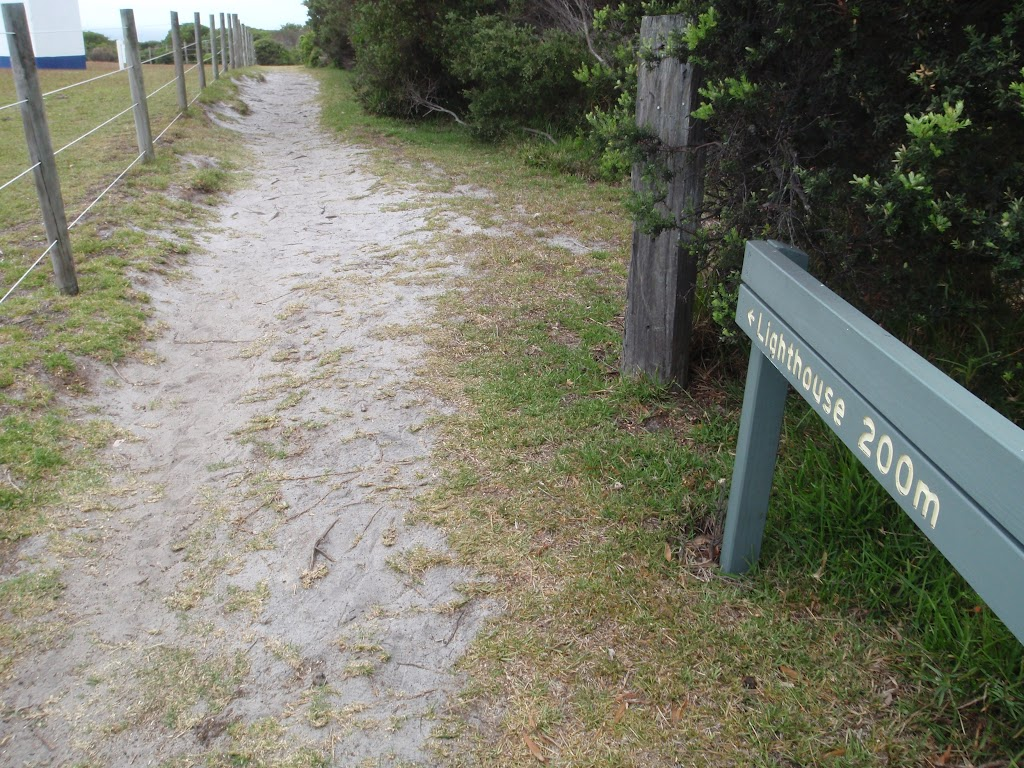 Sign to Green Cape Lighthouse (107566)