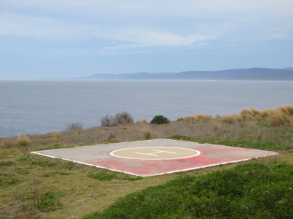 Heli-pad at Green Cape Lighthouse