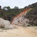 Rock coloured like the Pinnacles behind Long Beach (107797)