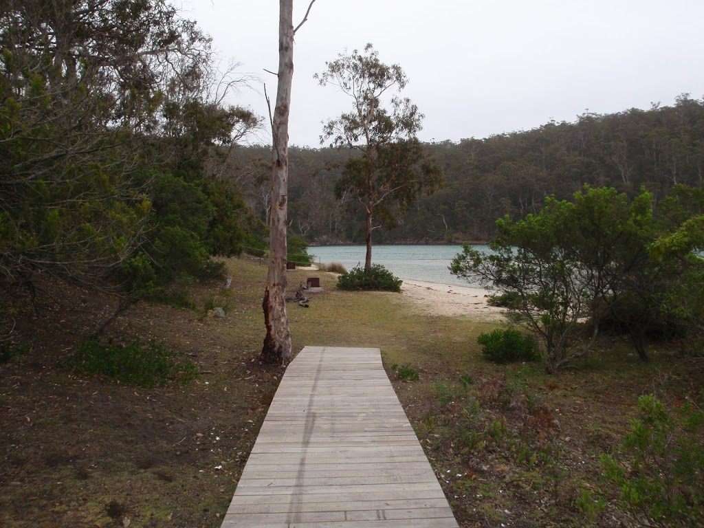 Boardwalk to Severs Beach picnic area (107932)