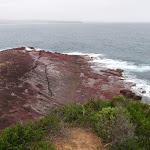 Rocks below Haycock headland