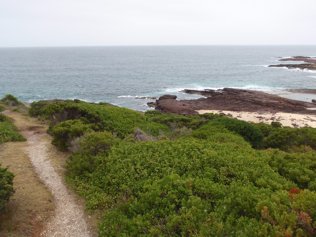 Track onto Haycock Point