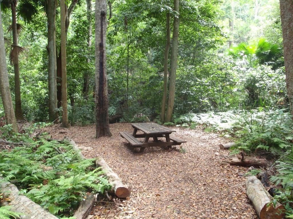 Table at Bola Picnic Ground