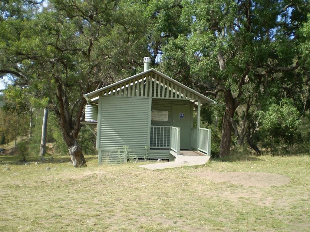 Cox's River campsite toilets