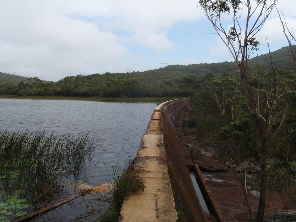 Lake Toolooma dam wall