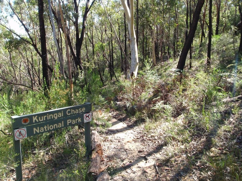Entering Ku-ring-gai Chase National Park