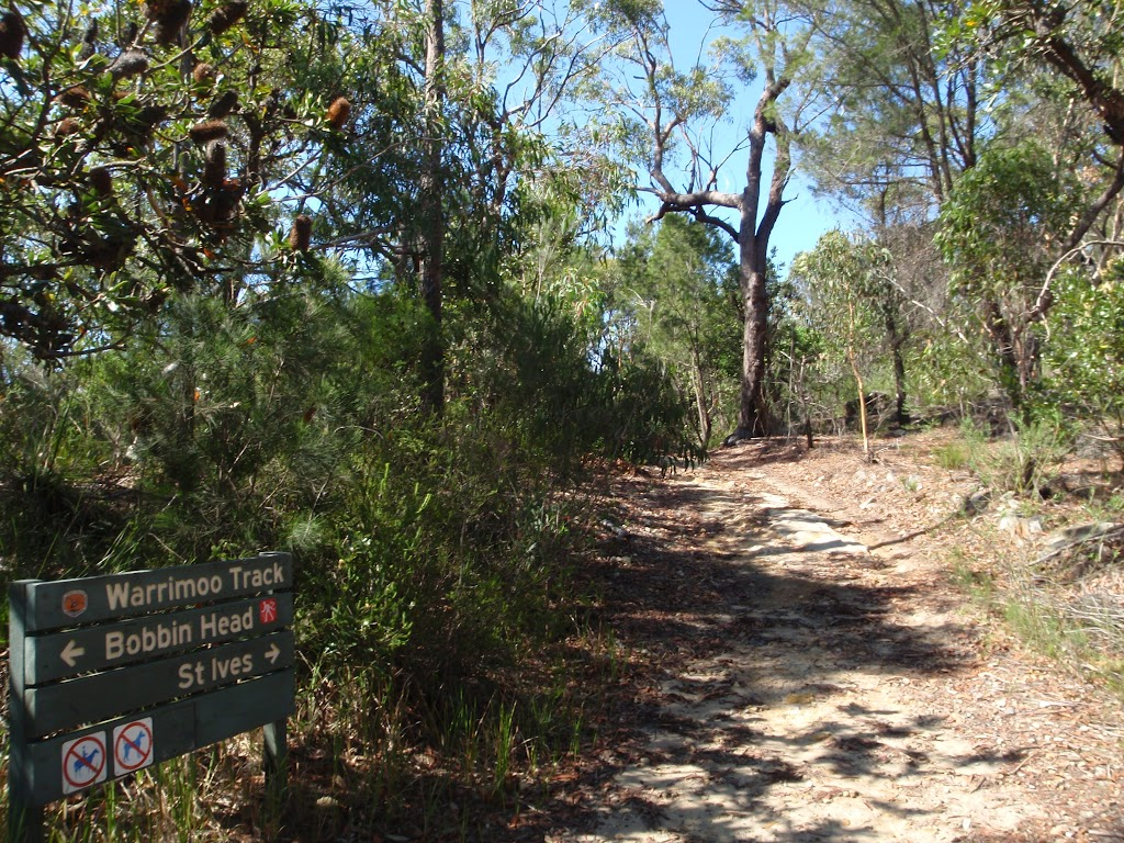 Intersection of the Warrimoo Track