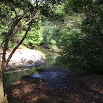Gibbergong water hole viewing point on the track