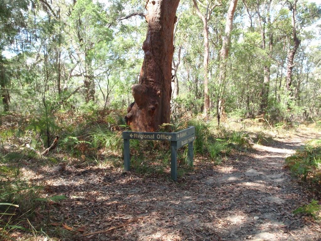 Birrawana Track signpost