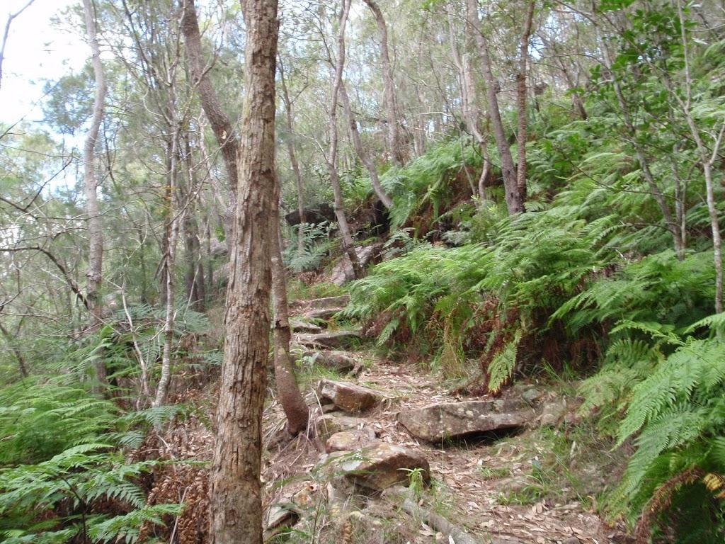 Rocks along Birwanna Track