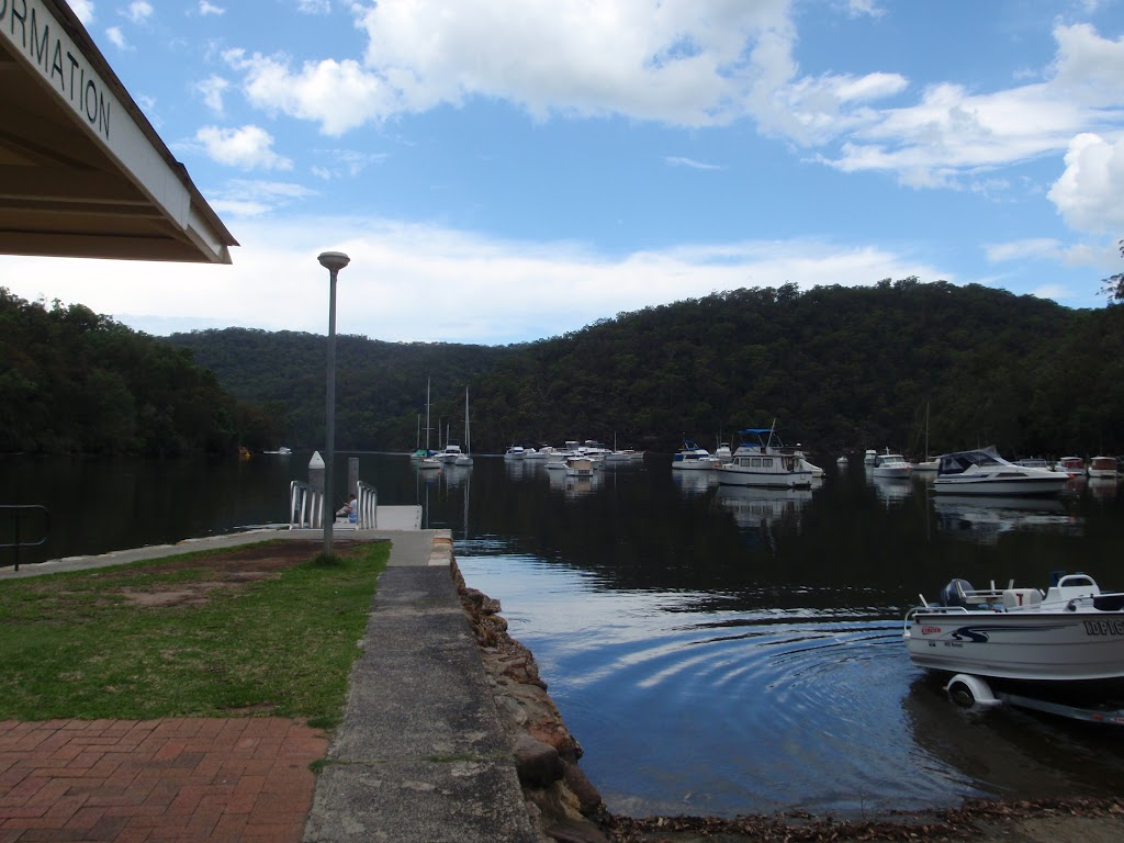 Looking across Apple Tree Bay from the boat ramp