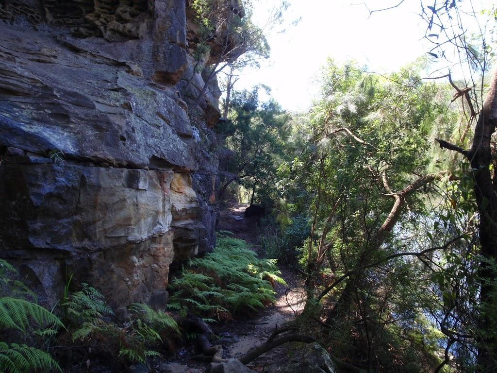Rock wall on Warrimoo Track