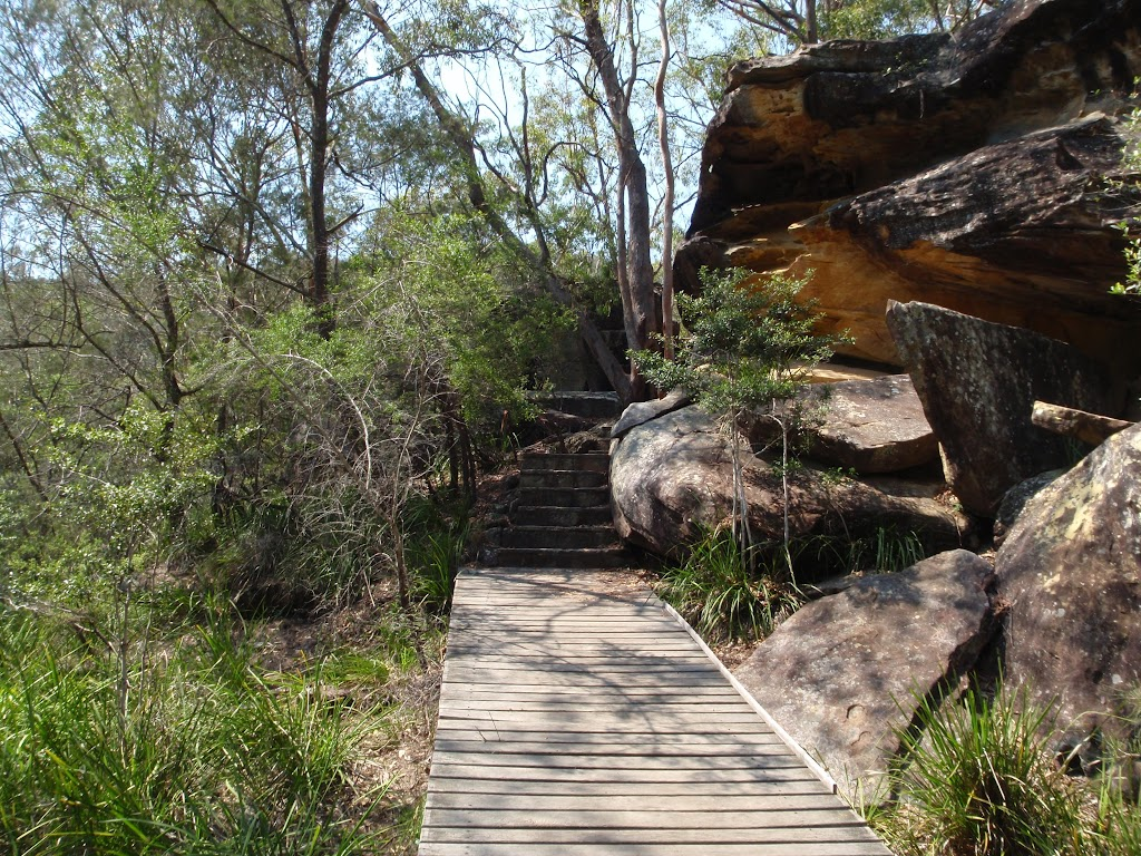 End of the Gibbergong boardwalk