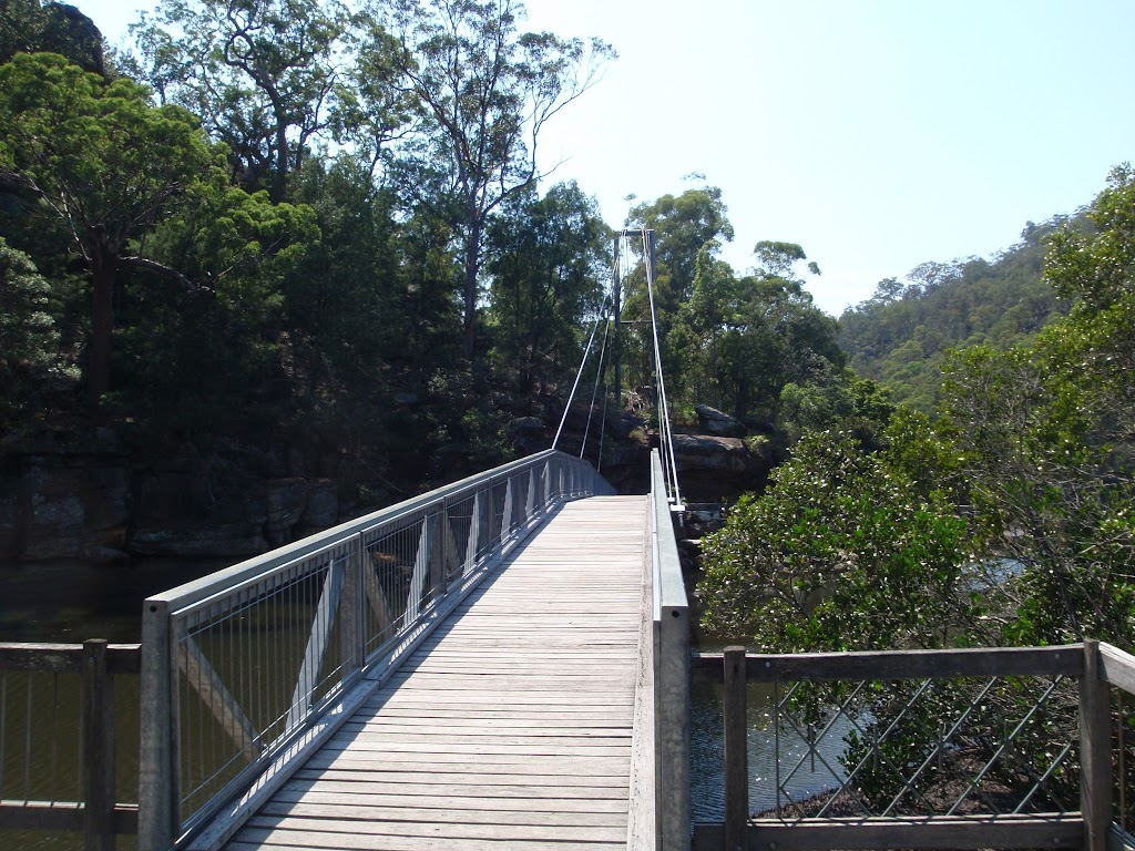 Bridge over Cockle Creek in at Bobbin Head
