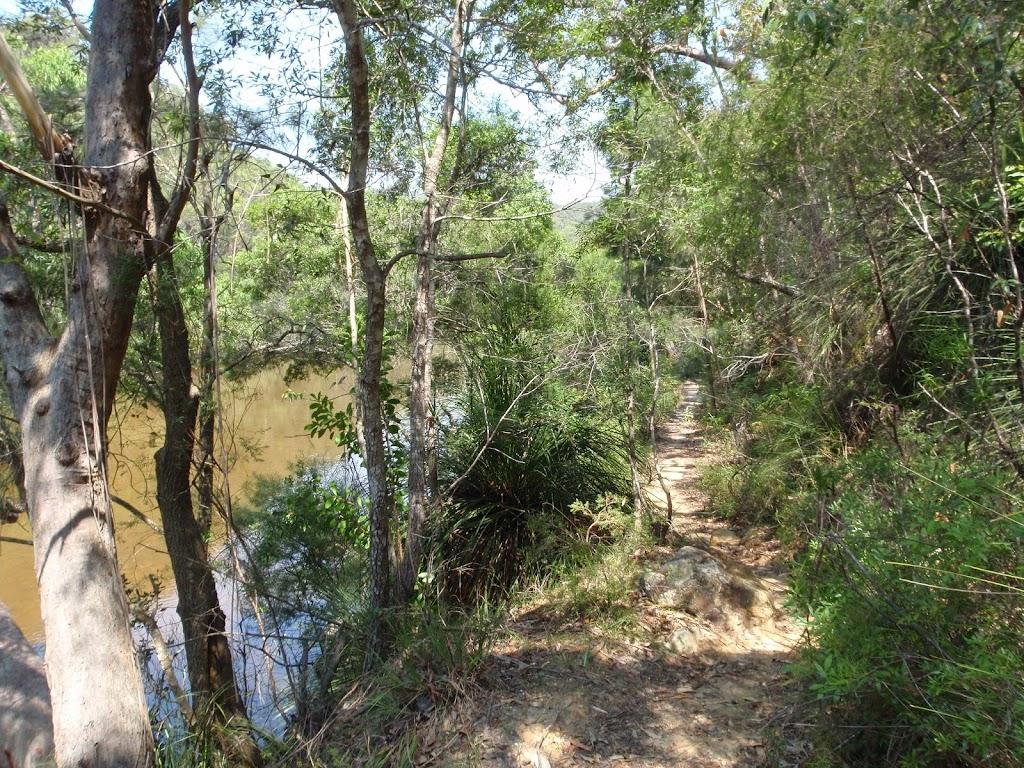 Cowan Creek next to Warrimoo Track