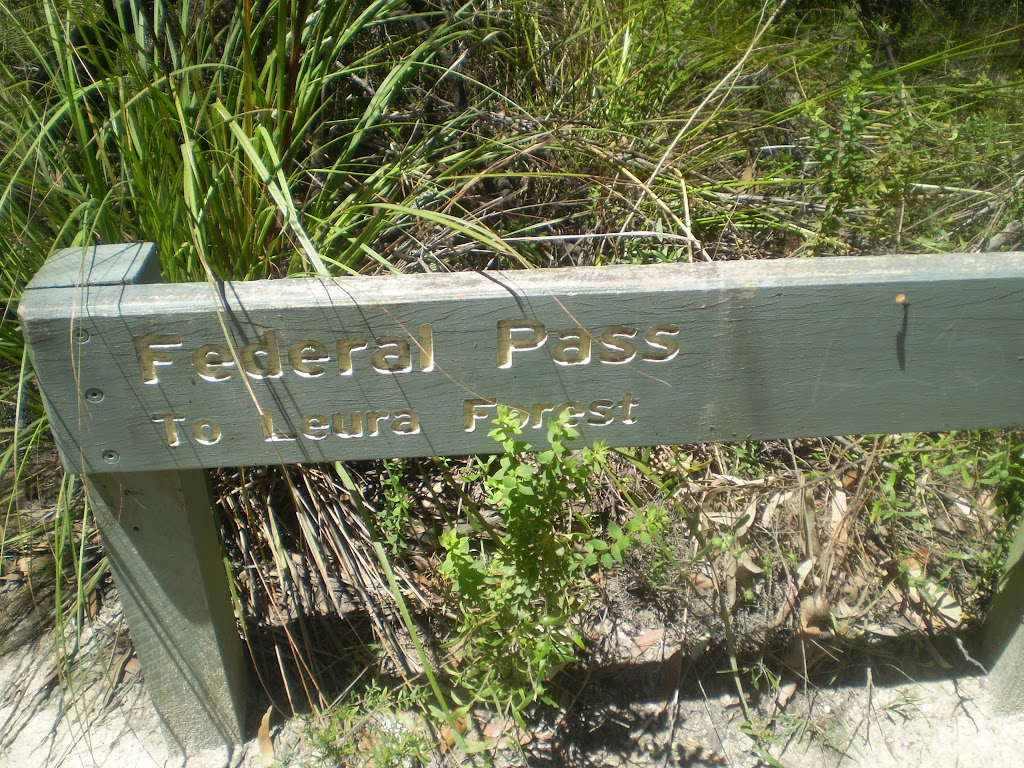 Eastern end of Federal Pass