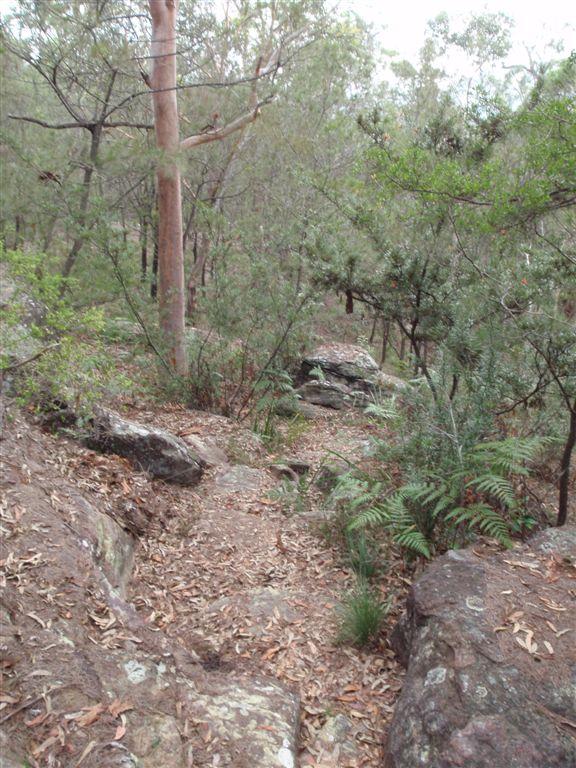 Rocks along the Birrawana Track