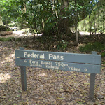 Federal Pass sign (11990)