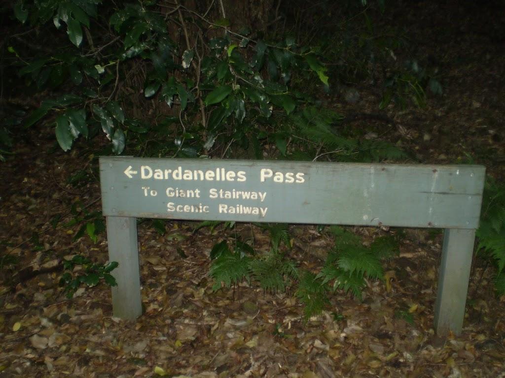 Sign at Leura Forest
