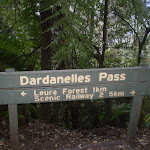Dardenelles Pass sign