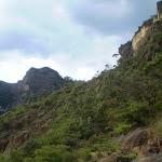 Looking west towards the Landslide