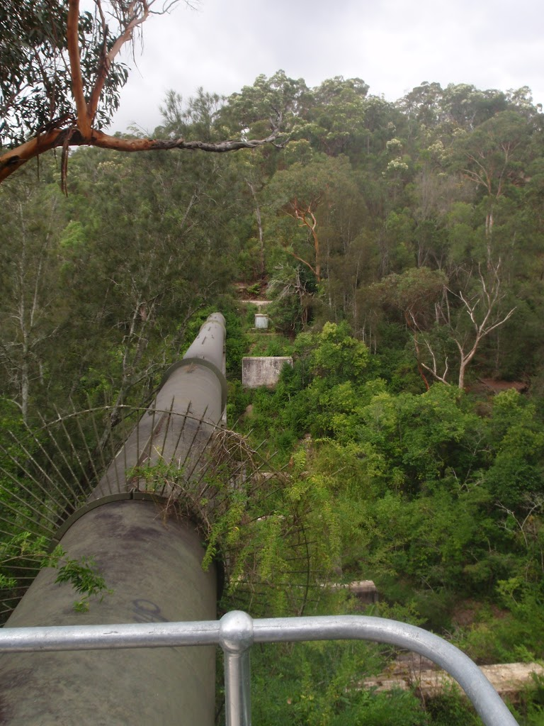 The Gordon Creek Pipe Bridge
