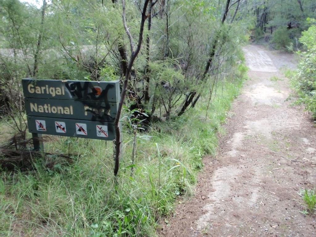 Garigal national park boundary