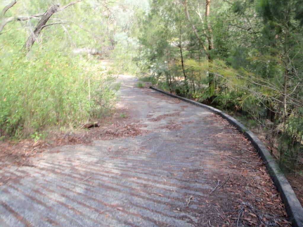 Bottom of Davidson Track